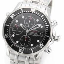 OMEGA(オメガ) メンズ 腕時計 SEA MASTER(シーマスター プロフェッショナルダイバーズウオッチ) シーマスター 300M クロノダイバー 213.30.42.40.01.001