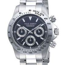 ドルチェ.セグレート 腕時計 コスモスホワイトCG100BK (DS)