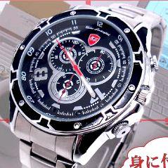 【【送料無料】 【小型カメラ】赤外線機能付腕時計型スパイカメラ(スパイダーズX-W750) 16GB内蔵/フルハイビジョン