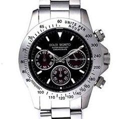 DOLCE SEGRETO(ドルチェセグレート) メンズ ウォッチ CG100BKR (腕時計)