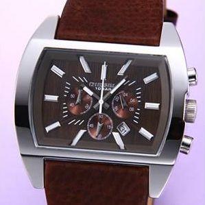 DIESEL(ディーゼル) 腕時計 クロノグラフ ブラウン DZ4138