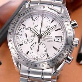 【送料無料】 OMEGA(オメガ) 腕時計 スピードマスターデイト シルバー 3211-30
