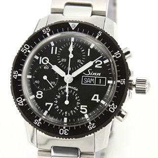 ジン メンズ 腕時計 クロノグラフ SSメタル オートマチック 103.B.AUTO