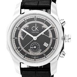【送料無料】 Calvin Klein(カルバンクライン) ビズクロノグラフレトログラード K77311.02 腕時計 メンズ
